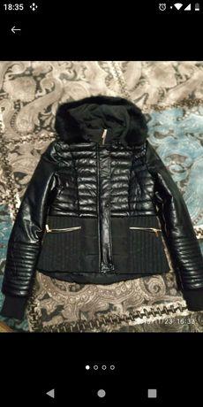 куртка zebra кожзам