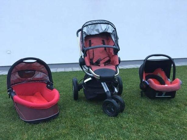Wózek Quinny Buzz spacerówka, gondola, fotelik + Gratis nowy pokrowiec
