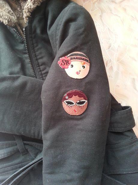 Пальто зимнее 1,5-3 года