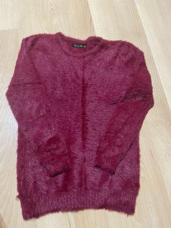 Sweterek bordowy