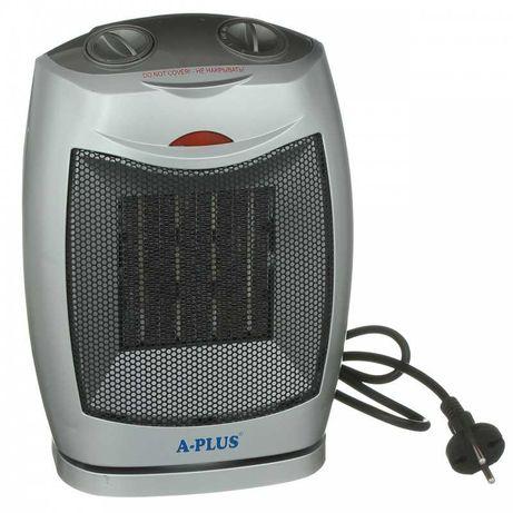 Новий тепловентилятор керамічний A-PLUS HT-1989 1500 Вт ціна 575 грн
