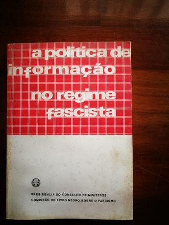 A política de Informação no Regime Fascista LIVRO