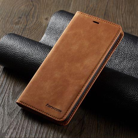 Capa em Pele para Iphone X e Samsung S10 (demonstração em VIDEO)