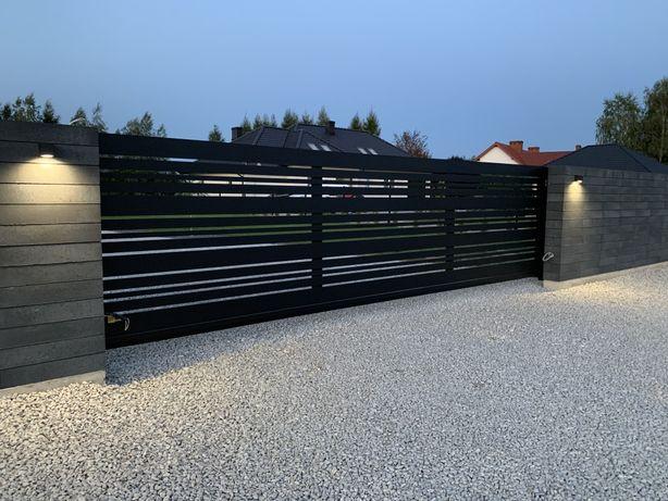 Ogrodzenie Aluminiowe, Bramy, Balustrady, Furtki, Automaty
