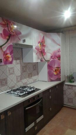 Кухня на заказ, прячем газовый котёл. 3,4,5 фото как выглядела кухня.