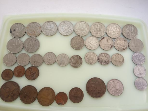 Советские монеты