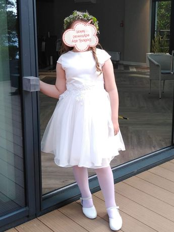 Sukienka na komunie dla dziewczynki