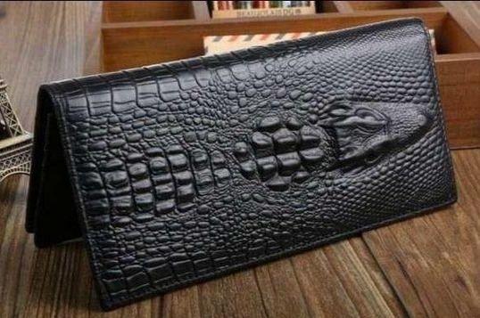 Мужской Клатч ALIGATOR bag ZQ850 черный