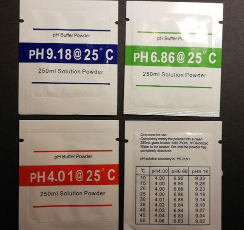 Bufor do kalibracji mierników pH 4,01 6,86 9,18