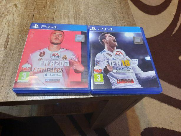 GRA FIFA 2020 i 2018 NA PS4