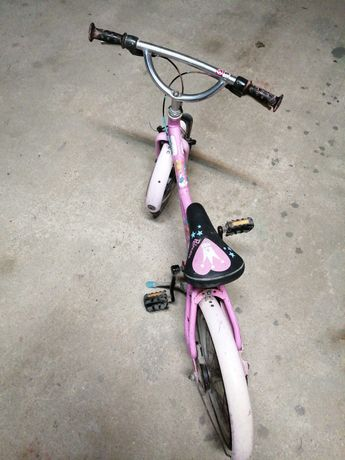 Bicicleta criança b twin rosa