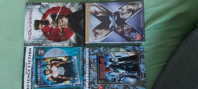 DVD X men 2,geneza,wolverine,helboy
