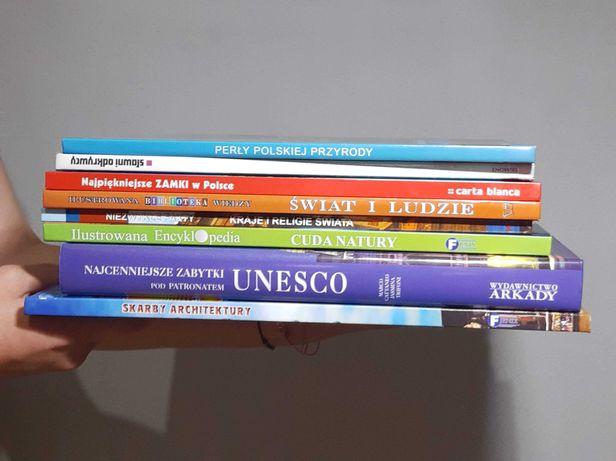Zbiór różnych książek – encyklopedii