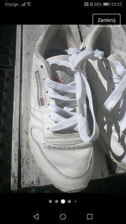 Buty reebok 37 38  białe