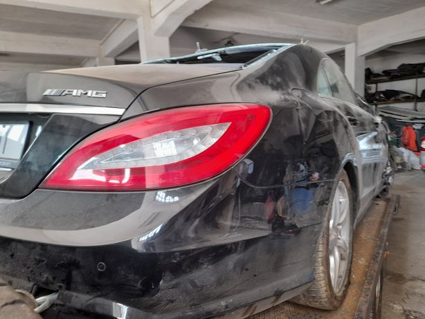 Mercedes CLS 350 cdi AMG 2012 salvado