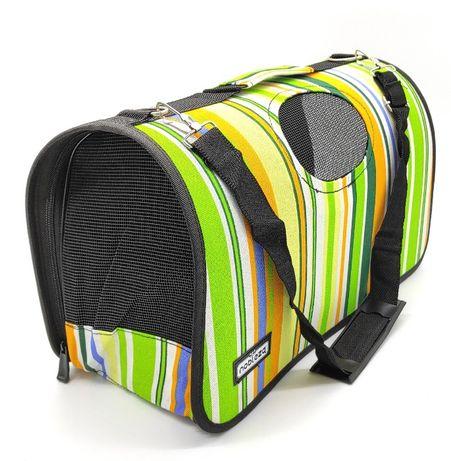 Torba transportowa podróżna transporter dla psa, kota, królika M kolor