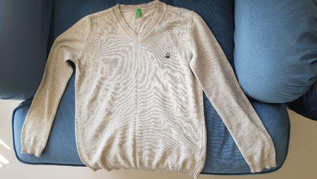 Swetr chłopięcy Benetton 140cm (8-9lat)