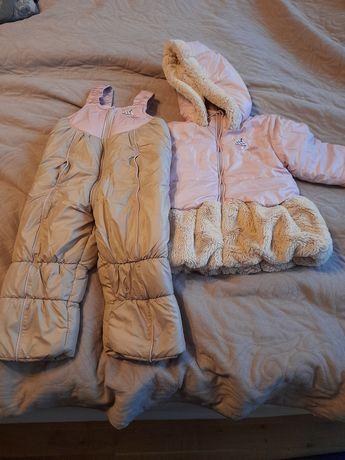 Kurtka zimowa i spodnie Wójcik 92 cm