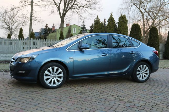 opel astra J IV 2016 salon polska 1.4 T Benzyna + LPG 140KM sedan