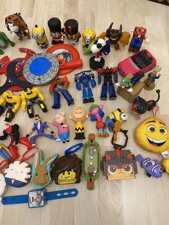 Zabawki z mc donalds