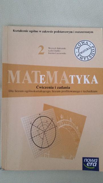 Matematyka klasa 2 ćwiczenia zadania liceum profile technikum Nowa Era