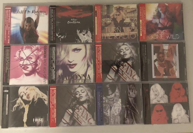 Madonna płyty CD azjatyckie wydania singlii UNIKATY