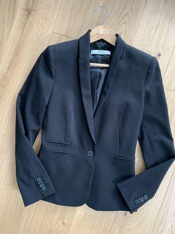 Czarna marynarka zakiet mango suit Xs taliowana