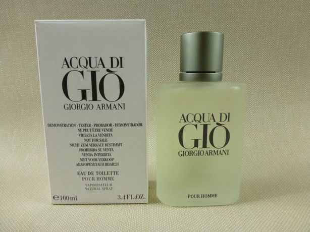 Armani Aqua Di Gio 100ml edt tester