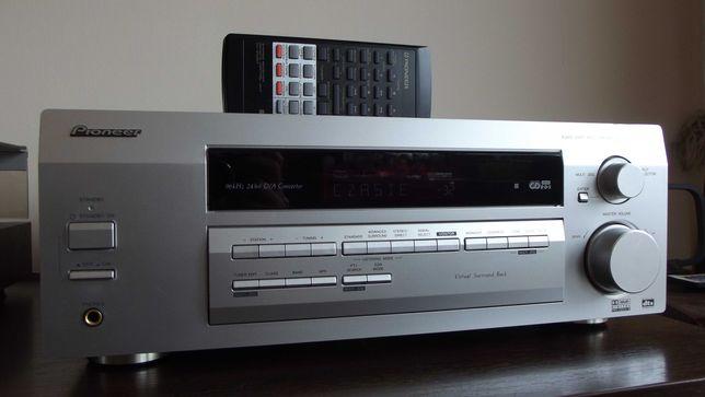 Amplituner udostępnij PIONEER VSX-D511 kino  DOLBY DIGITAL DTS RDS