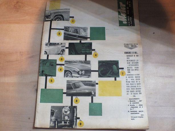 Tygodnik motor 1960 GRUDZIEŃ KOMAR OSA