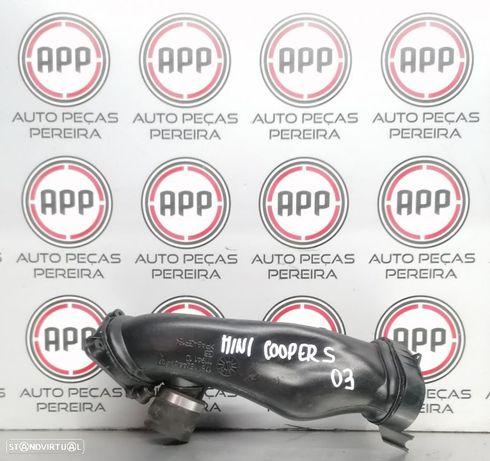 Tubo de intercooler admissão Mini Cooper S de 2002 referência  1751 1524439 07