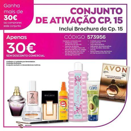 Pack Avon 8 produtos