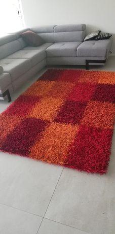 Kolorowy dywan Shaggy