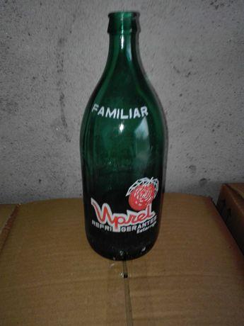 """Garrafas Antigas  refrigerante marca """"Uprel"""""""