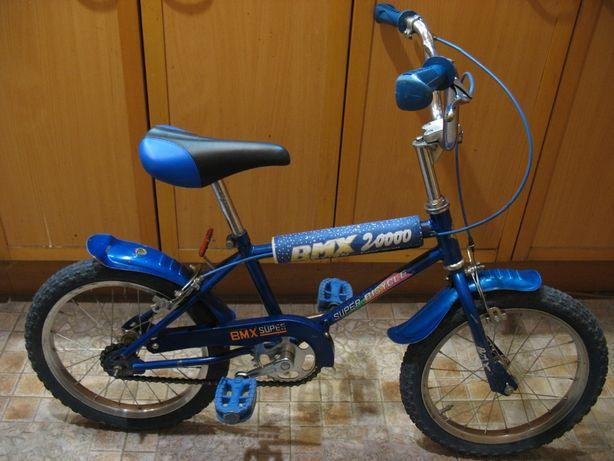 """Велосипед детский BMX, 16"""" колеса, синий"""