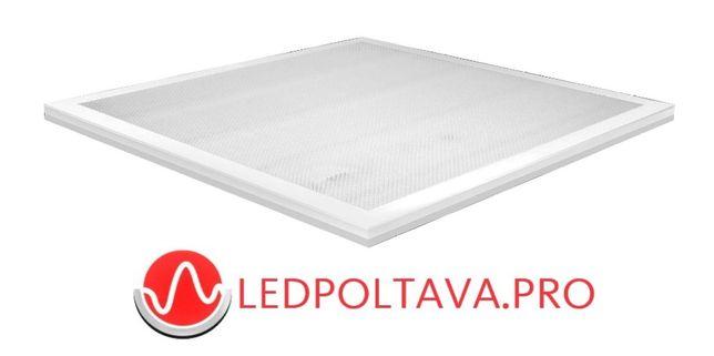 LED cветильник 36Вт Опал (призматик) панель 595х595мм гарантия 2 года
