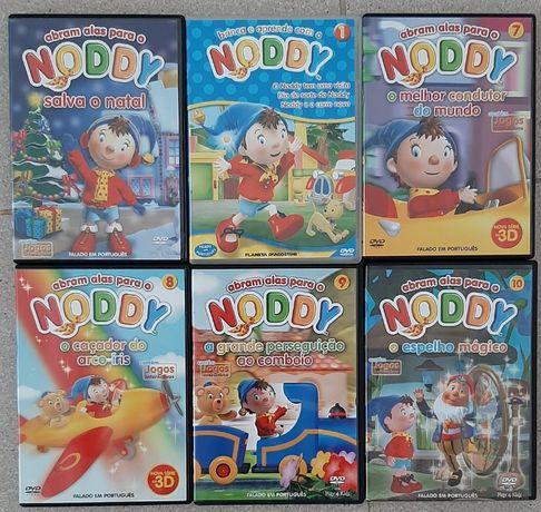 Noddy - 6 DVD's originais usados