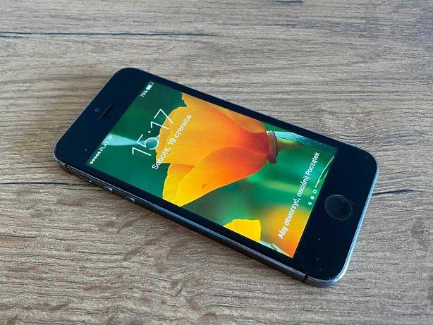 iPhone 5S 16GB Space Gray 100% Sprawny