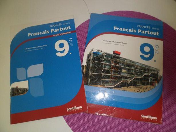 Livros Escolares 9º ANO- Francês (USADOS)