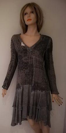 Elisa Cavaletti - cudna sukienka ekskluzywnej włoskiej firmy - M/L