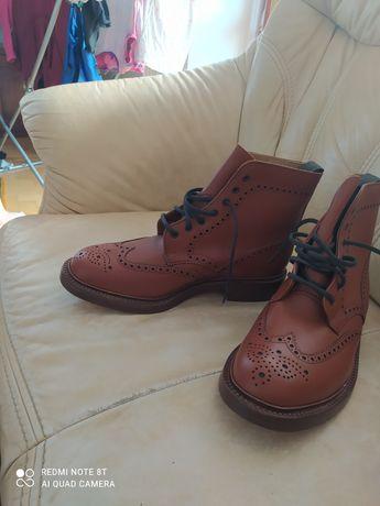Alfred Sargent, шкіряні черевики 46-47 розмір