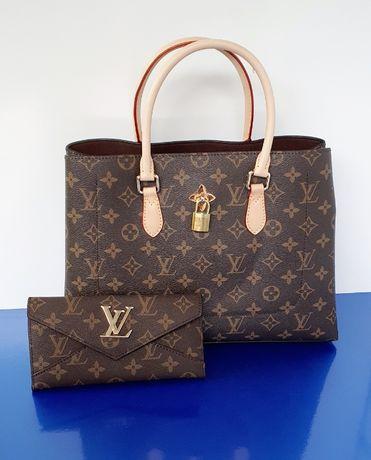 Portfel damski LV Louis Vuitton monogram