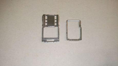 Держатель SD карты памяти Sim карты Sony Xperia M5