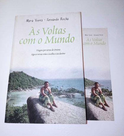 Às Voltas com o Mundo de Maria Vieira (portes incluídos)