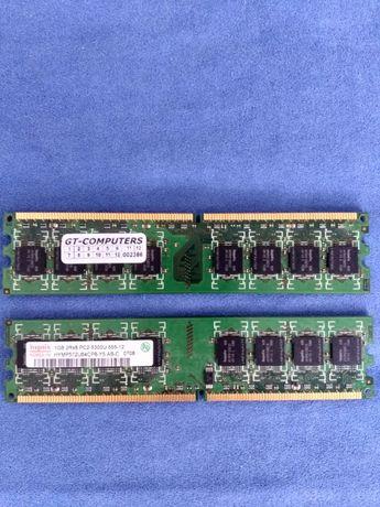 Pamięć PC 1GB ddr 667 PC 2 sztuki