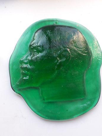 Портрет Леніна на стіклі