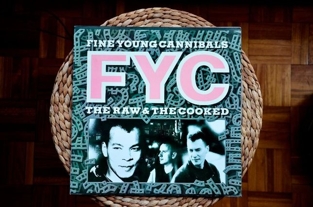 *Vinil* FYC-FINE YOUNG CANNIBALS - The Raw & the Cooked