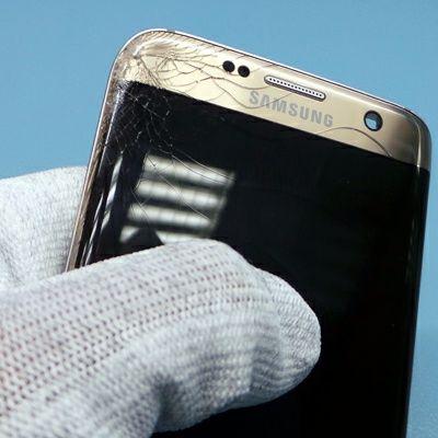 Замена разбитого стекла телефона! Сепарация дисплея samsung, xiaomi