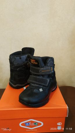 Супер зимние ортопедические  ботинки Tiflani р.28