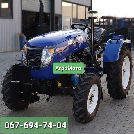 Трактор DW 244 AHTXD, 3 цил., ГУР, КПП (4+1)х2, колеса 11.2 х 24